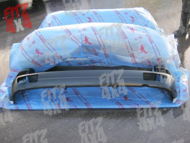 Toyota Landcruiser 03-10 Rear Bumper