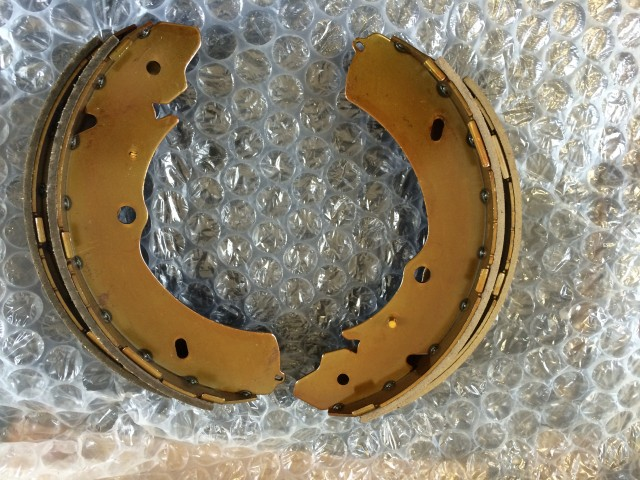 Isuzu D-max Rodeo Rear handbrake shoes