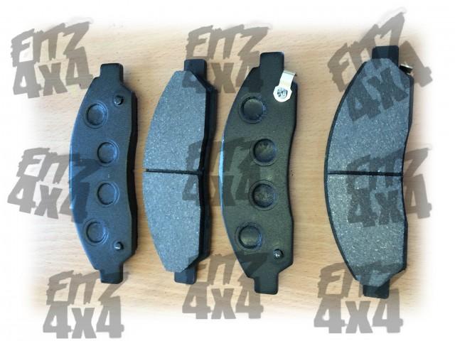 Isuzu D-max front brake pads
