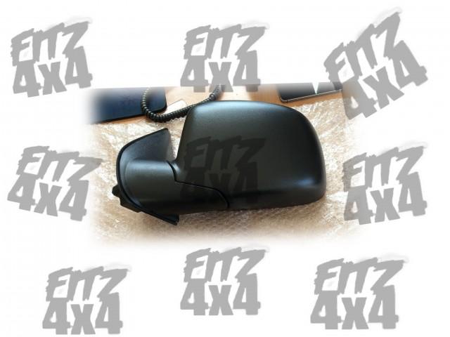 Isuzu D-max L/H Black plastic mirror