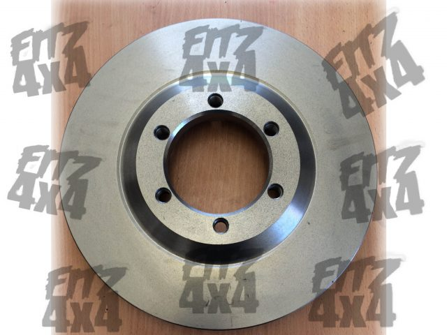 Isuzu D-Max/Rodeo Front Brake Disc