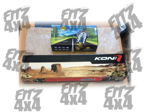 Koni Rear Shocks and Mad Helper Springs kit