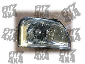 Mitsubishi L200 front right headlamp