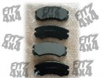 Isuzu trooper Front Brake Pads