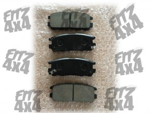 Isuzu Trooper Rear Brake Pads