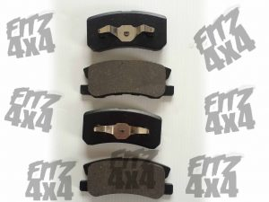 Mitsubishi Pajero Rear Brake Pads