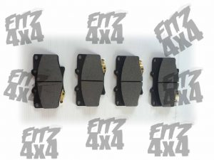Toyota Hilux Front Brake Pads