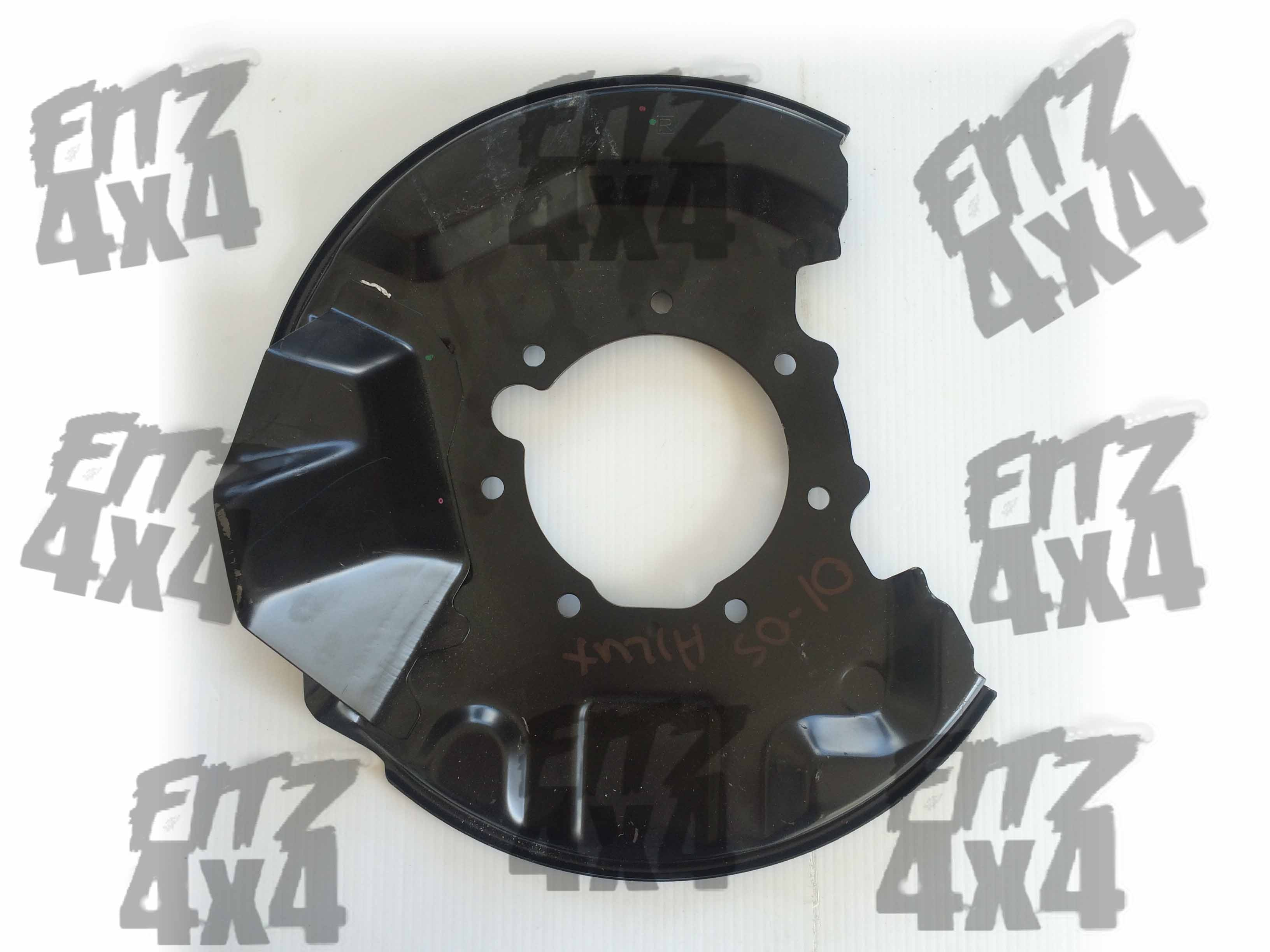 Toyota Hilux Front Right Brake Disc Cover