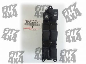 Toyota Landcruiser Drivers Door window Switch