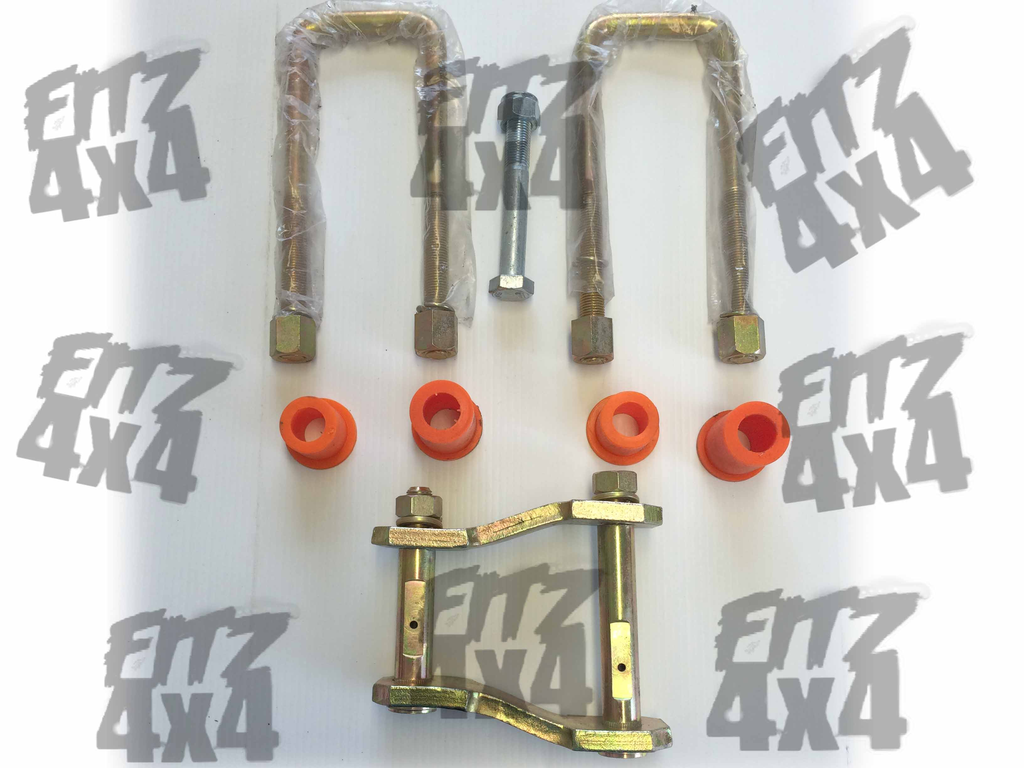 Isuzu D-Max Leaf Spring Bushing Kit