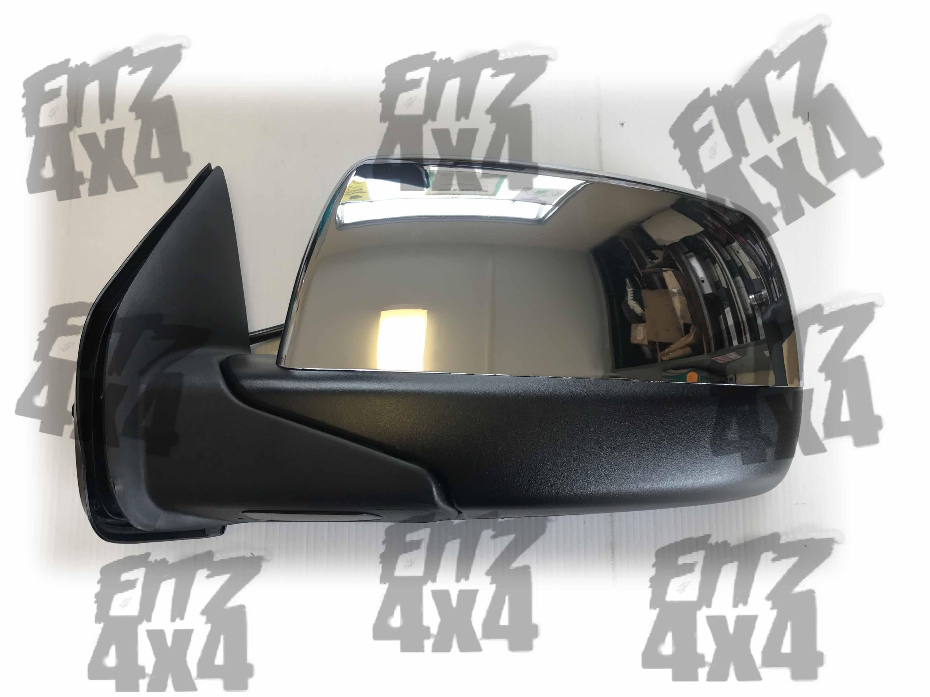 Ford Ranger Front Left Chrome Mirror