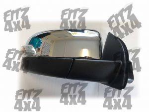 Ford Ranger Front Right Chrome Mirror.