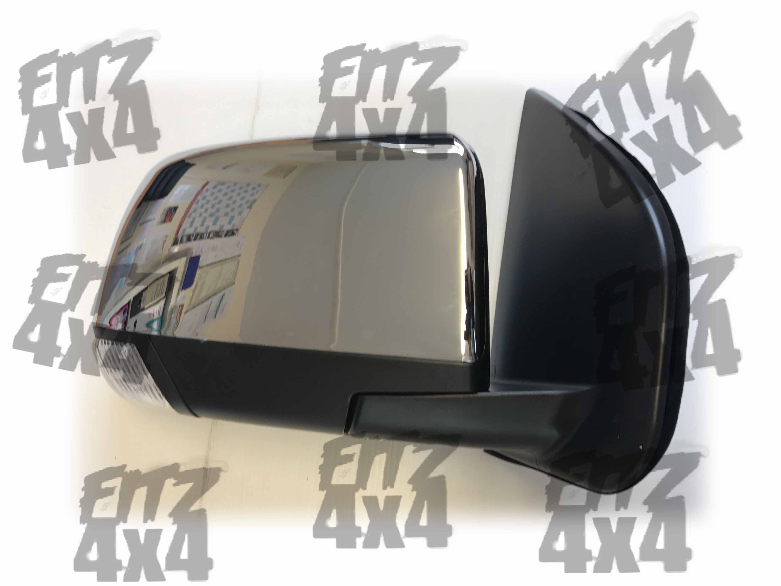 Isuzu D-Max Front Right Chrome Mirror